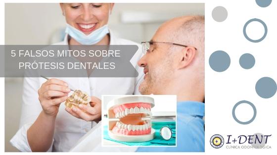 5 falsos mitos relacionados con las prótesis dentales