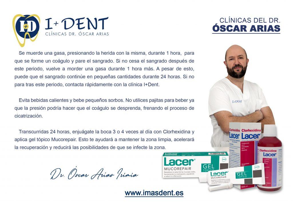 El Dr. Óscar Arias Irimia con consejos sobre implantes dentales